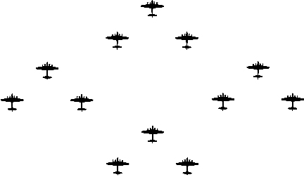 Squadron Box Formation Drawing